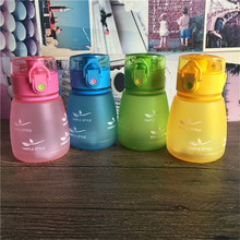 300ml BPA Free Plastic Water Bottle Creative Drinking Bottle Sports Bottle Children Style(China)
