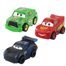 Disney Pixar Cars Cars 3 Toys Mini Lighting McQueen Black Jackson Storm Diecast Metal Alloy Birthday Gifts For Kids Boys Girls