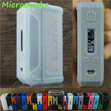 wholesale 100pcs Lost Vape Skar Therion DNA 75w 133w silicone SKIN Sleeve Cover thicker free shipping by DHL 19 color