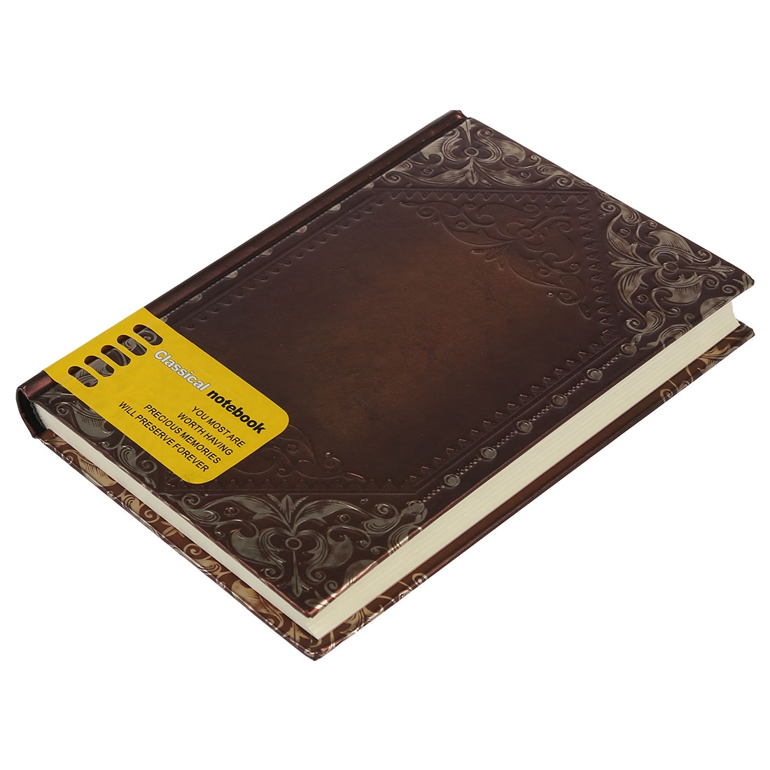 Retro Vintage Personal Notebook Diary Journal Organiser Book School Office Use Dark brown(China (Mainland))