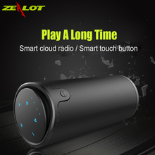 Zealot  Wireless Bluetooth Speaker Portable HIFI Bass LoudSpeaker Waterproof TF Card USB AUX Power Bank for Riding & camping