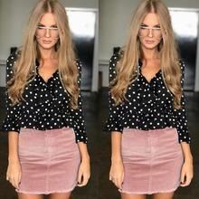 Buy Vintage corduroy pink pencil skirt Fashion streetwear metal button zipper short skirt 2017 New autumn mini skirts womens for $11.83 in AliExpress store