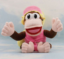 Dixie Kong Plush Super Mario Donkey Country Diddy Girlfriend Stuffed Toy 7inch Kawaii Kids Stuffed Toys For Children Dolls