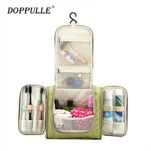 2017 Hot Sale!DOPPULLE Large Hanging Travel Man Deluxe Toiletry Bag Wash Makeup Organizer Pouch Women Big Cosmetic Bags Bulk