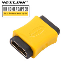 VOXLINK HDMI Female to Female Coupler Extender Adapter Connector Gold Plated HDMI F/F Converter for HDTV HDCP 1080P(China)
