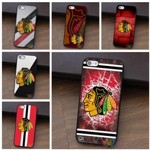 Laser Technology NHL Chicago Blackhawks fashion cell phone case for iphone 4 4s 5 5s 5c SE 6 6s 6 plus 6s plus 7 7 plus #LI1844