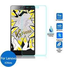 For Lenovo K3 Note Tempered glass Screen Protector 9H 2.5 Safety Protective film on K3note Music K50-T5 K 3 K50 T5 a40 K50-a40(China)