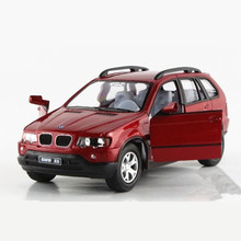 1:36 Scale Emualtional Pull Back Diecast Metal + ABS Toy Cars Model, KINSMART Car Toys For Baby Boys, Doors Openable Brinquedos(China)