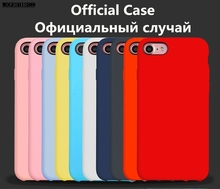 Buy Original Brand Case iPhone 8 Plus Liquid Silicone Case iPhone 7 6S Plus Phone Cover iPhone X SE 5 5S 6 Retail Box for $3.68 in AliExpress store