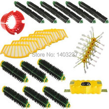 For iRobot Roomba 500 Series Accessory Kit - Includes: Battery 6 Beater Brushes 6 Bristle Brushes A Bristle Brush Cleaning Tool