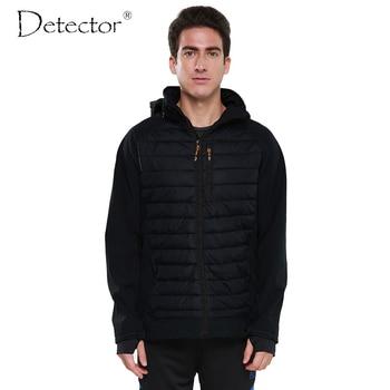 Detector 2016 hombres softshell chaqueta al aire libre a prueba de viento impermeable senderismo chaqueta deportiva ropa de abrigo