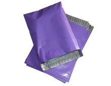 Purple color envelope mailing packaging custom size pouches Courier mailer express bags