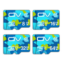 OV Micro SD Card 64GB 32GB 16GB Class 10 U1 Tarjeta Micro SD 8GB Class 6 Cartao de Memoria Carte SD Card Memory Card(China)