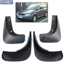 For VW Touran Caddy 2004-2010 Front Rear Car Mud Flaps Mudflaps Splash Guards Mud Flap Mudguards Fender 2009 2008 2007 2006 2005(China)