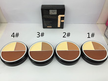 Hot Sale Makeup Concealer Palettes Contour Makeup Contouring Highlighter 3 Color Foundation Concealer 4 Color Choose #C14002#(China)