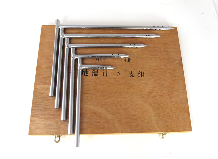 5cm,10cm,15cm,20cm,25cm earth mercury temperature monitor probe type -20~50 'C soil mercury thermostat 5pcs per lot(China (Mainland))