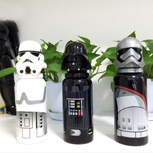 2017 new arrival Star Wars Darth Vader tainless Steel bottle Creative Straight body style Cartoon Water Bottle Outdoor bottle