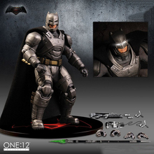 "New One:12 Super Hero Batman 1/12 Scale PVC Action Figure 6"" Model Collection Christmas Gift Children Toy (Chinese Version)(China)"