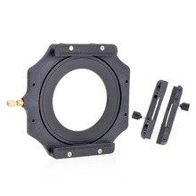 "100mm Square Z series Filter Holder + 77mm Metal Adapter Ring for Lee Hitech Singh-Ray Cokin Z PRO 4X4"" 4x5""4X5.65"" Filter"