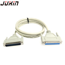37Pin Male to Female Extension Cable DB37 male to male calbe M/F Serial Port Extend DATA Cable Cord Printer 1M 1.5M 3M 5M(China)