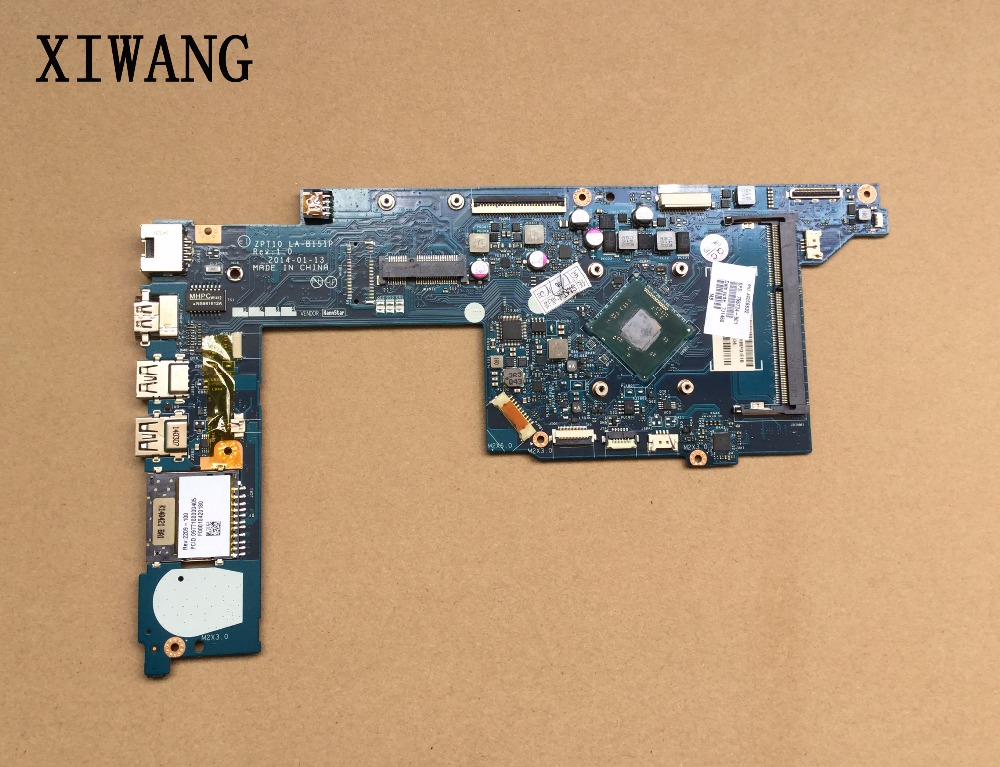 764236-501 free shipping 764236-001 for HP Pavilion 11 11-N 11T-N Laptop Motherboard La-b151p DDR3 N3530 100% test good