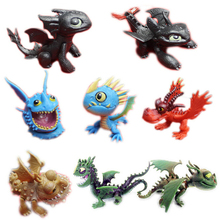 Free Shipping 8pieces/set how to train your dragon 2 Figure Play Set Toys Doll Figure bulk packing model gift for kids
