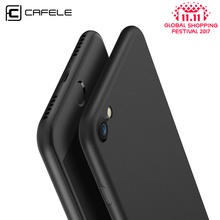Original CAFELE Phone case for iphone 7 Ultra Thin Cute colors PP cases for Apple iphone 7 plus Fashion flexibility back Case(China)