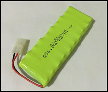 1 PCS/lot Original New AA Ni-MH 12V 1800mAh Ni-MH Rechargeable Battery Pack With Plugs Free Shipping