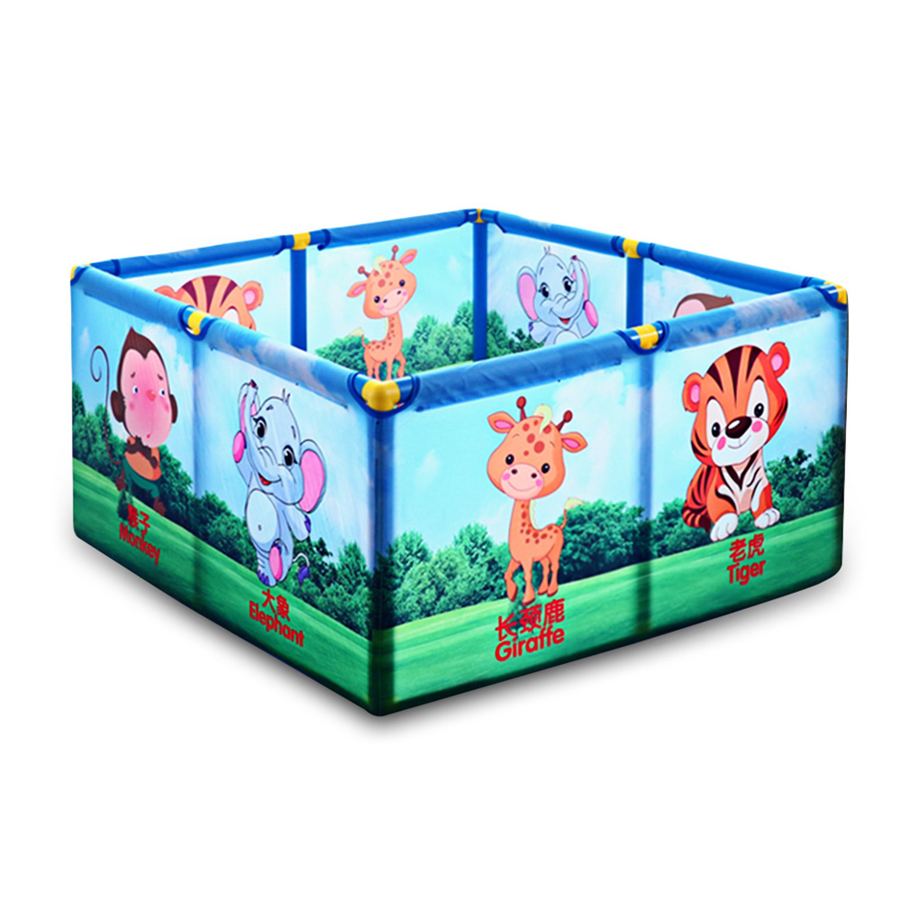 Strong-Willed Cartoon Dolphin Pattern Baby Ball Pit Foldable Washable Toy Pool Children Hexagon Ocean Game Play Tent House Baby Playing Pool Activity & Gear Swimming Pool