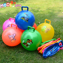 25cm Kids Inflatable Bouncing Ball Toys Cartoon Jumping Ball Bounce stress ball Kids Balls Cute High Quality(China)