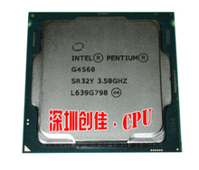 original Intel Pentium G4560 Processor 3MB Cache 3.50GHz LGA1151 Dual Core Desktop PC CPU G 4560