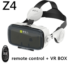 VR BOX BOBOVR Z4 Headphones 3D Glasses Virtual Reality goggles google Cardboard with headset for iOS / Android 4.7-6 Smartphone(China)