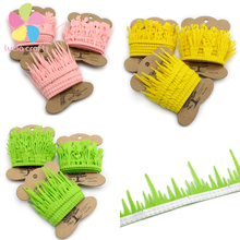 2y/lot grass flower style Lace Ribbon Handmade Lace Trim Garment Sewing Material Accessories 040051063