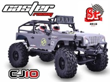 Caster 1/10 4WD JEEP CJ10 RTR remote control model car off-road rock climbing RC truck