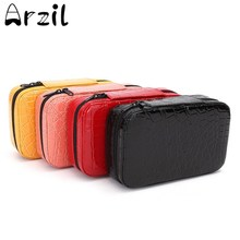 Sturdy Double Zipper 32 Bottles Essential Oils Carrying Case 2ml Pouch Beautiful Portable Custom Hard Case Traveling