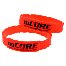 Promo Gift Design Your Own Shaped Silicone Wristband Cheap Bracelets