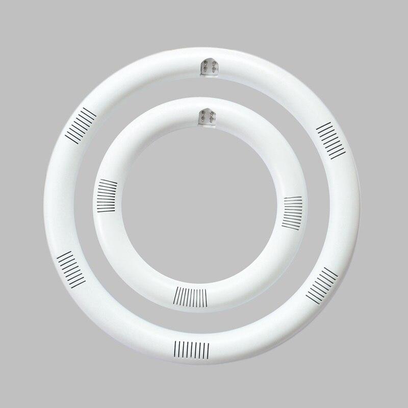 12W 15W 20W Led Tube Lamp AC85-265V G10q SMD2835/3014 T9 LED Circular Tube LED circle Ring lamp bulb light with Metal radiator<br>
