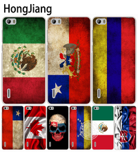 HongJiang slovak mexico canada chile colombia flag cell phone Cover Case for huawei honor 3C 4A 4X 4C 5X 6 7 8 Y6 Y5 2 II Y560(China)