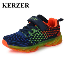 2017 Hot New Style Brand Children Sport Shoes Boys Girls Sneakers Cool Kd Trainers Kids Running Shoe Breathable Kids Footwear