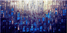 china import items decor for home landscap painting abstract paintings city modern abstract ready to hang stretched oil painting