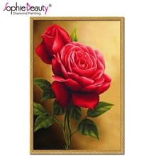 Алмазная вышивка наборы розы 65
