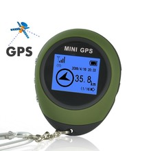 Keychain PG03 Mini GPS Tracker, GPS Receiver, GPS Location Finder for Outdoor Sport Travel - Worldwide Use