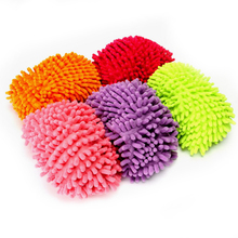 2PCS Multifunctional Chenille Micro Fiber Shoe Covers Clean Slippers Lazy Drag Shoe Mop Caps Household Tools