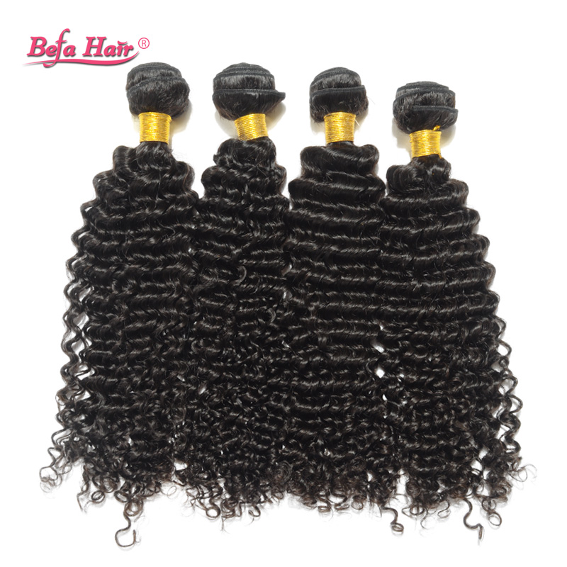 6A brazilian virgin hair weave natural deep curly befa hair products 5pcs lot free shedding tangle human hair extension<br><br>Aliexpress