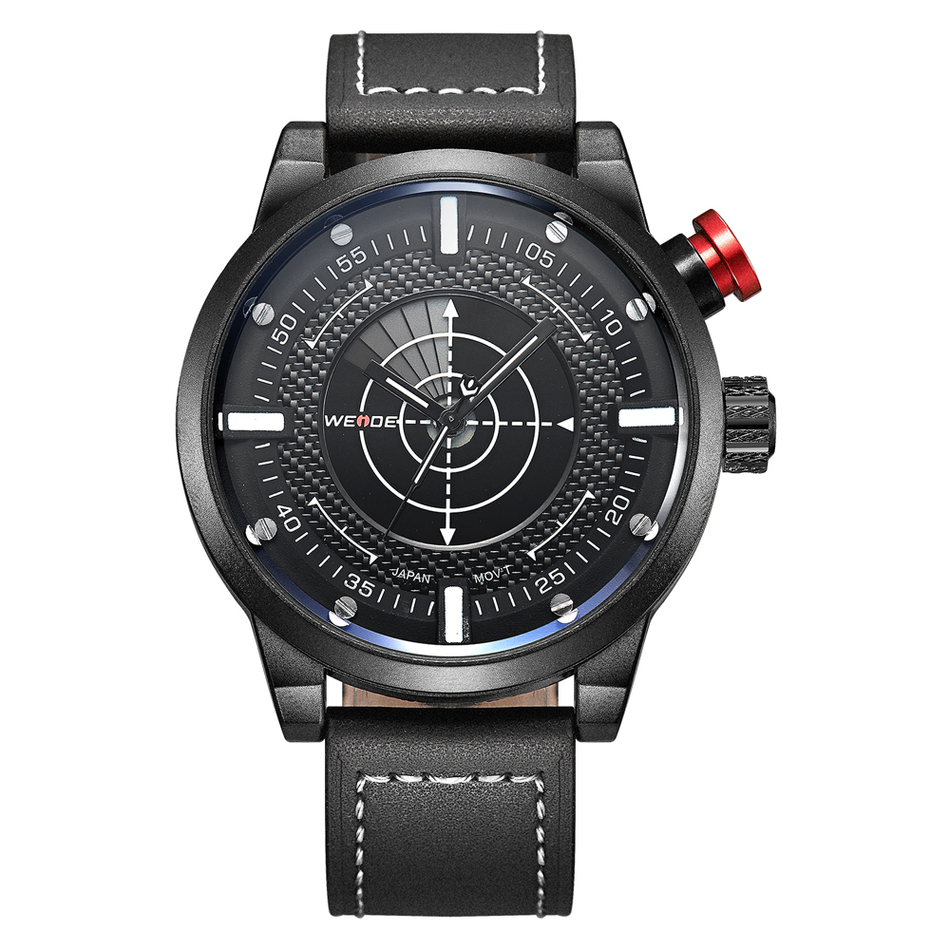 Weide Watch Men Casual Sports Wristwatch Leather Montre Homme Male Clock Quartz Watches Sports Waterproof Leather Strap Relogio <br>