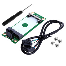 Mini PCI PCI-E Express to USB Interface With SIM Card Adapter 180 Degree #K400Y#(China)