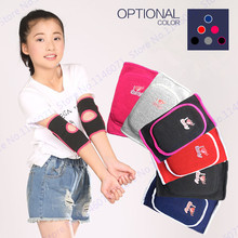 Thicken Kids Dance Elbow Brace Support Crashproof Sports Sponge Youth Elbow Pads Support Stretch Skating Hockey Elbow Support(China)