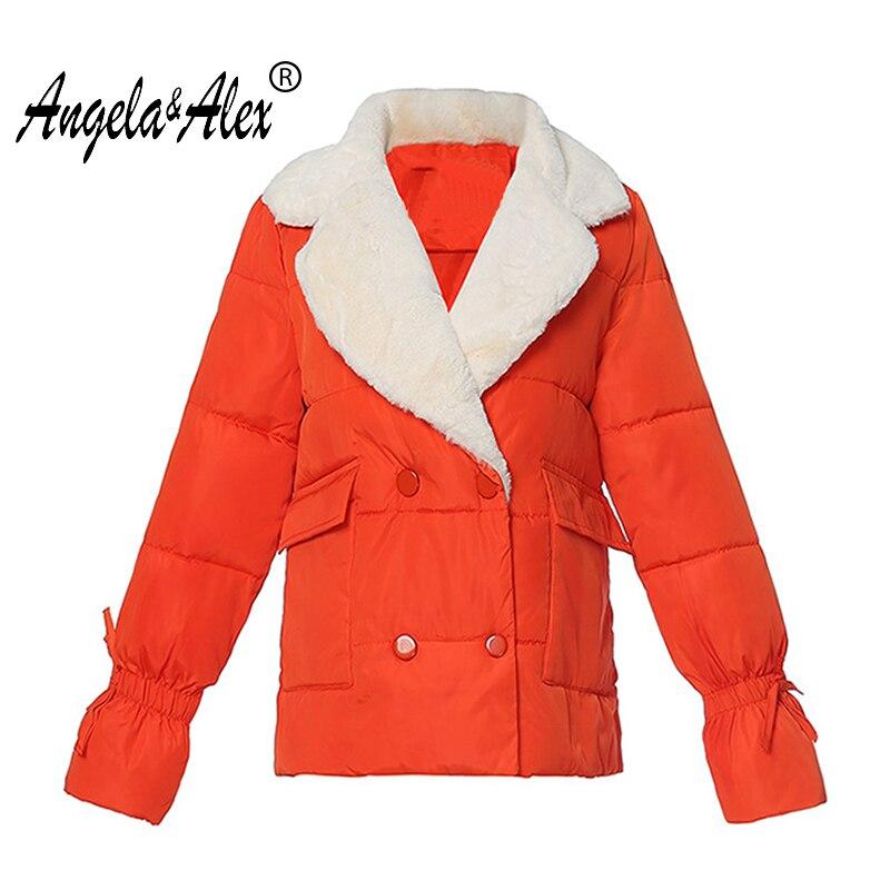 2017 new Korean Autumn Winter Jacket women  Short Bread Down Jacket Padded Coat Thickening ladies Casual JacketÎäåæäà è àêñåññóàðû<br><br>