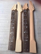 PRS 0901-7 Nice 2 pieces of unfinished-electric Guitar Necks , 22Frets and 24Frets