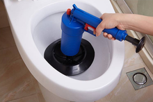 AIR PUMP GUN AIR PUMP DRAIN BUSTER BATH SINK TOILET(China)